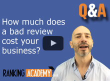 how much does a bad review cost your business