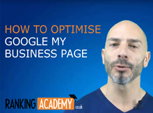 how to optimise google my business page
