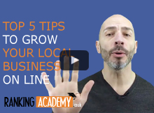 top 5 tips to grow your local business online