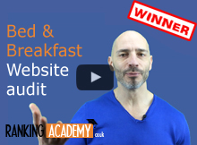 bed and breakfast website audit