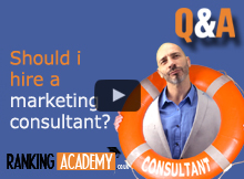 shouli i hire a marketing consultant