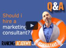 shouli i hire a marketing consultant