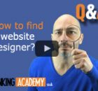 how to find a website designer banner