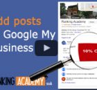 add posts to google my business