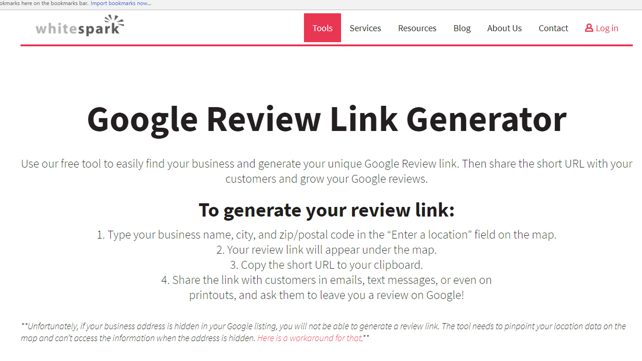 Get google reviews for your business the fast and easy way ranking as you can see the process is clearly explained and couldnt be easier to use but for the sake of this tutorial i am going to create a link so you can accmission Choice Image