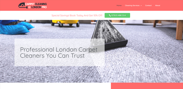 carpet cleaning london pro