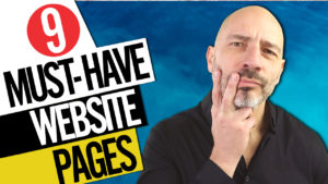 9 must have website pages