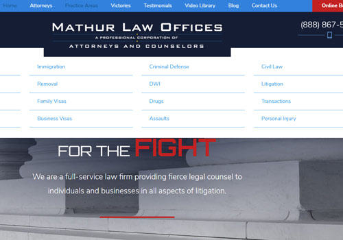 local lawyer website