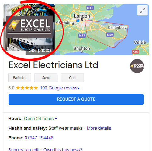 example of a google my business cover photo