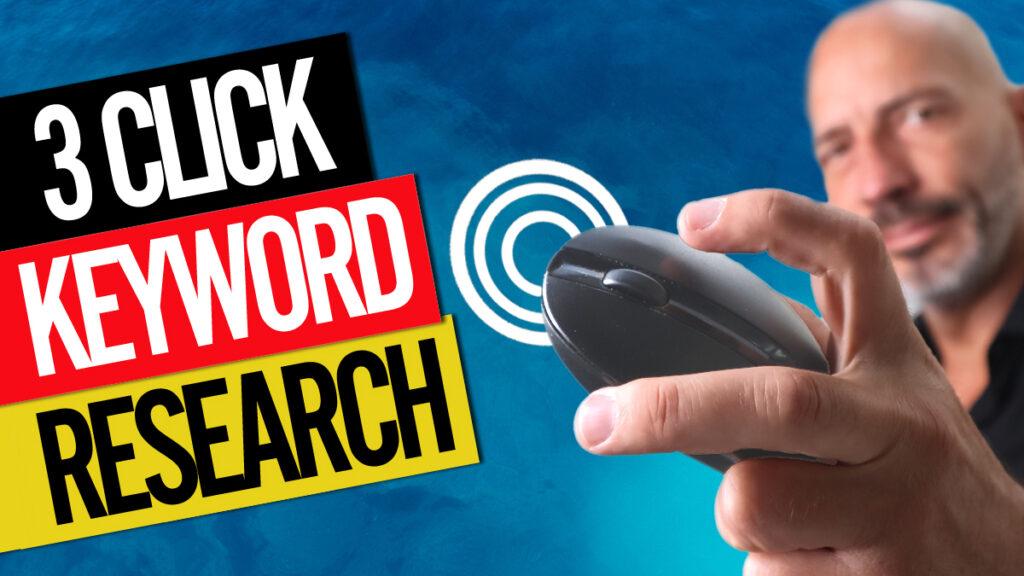 3 click keyword research